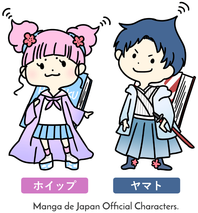 Manga de Japan Official Characters.